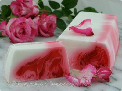 Seife Rosa Rosen Duft *Block*