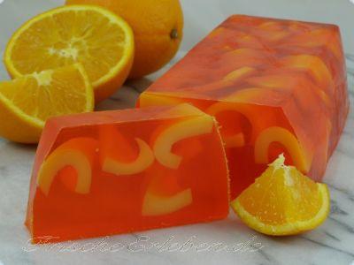 Seife Orangen Duft *Block*