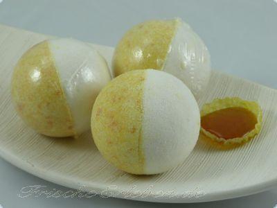 Badebombe Honigmilch